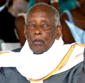 The late Mzee Amos Kaguta