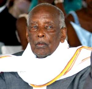 The late Mzee Amos Kaguta