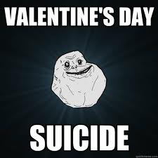 Suicide on Valentine's Day