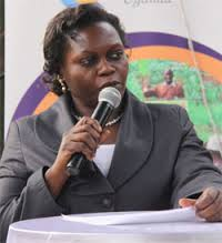 State Health Minister Sarah Opendi
