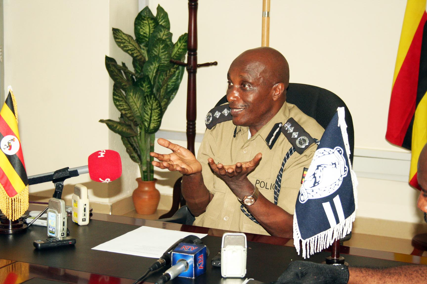 Police Chief Gen. Kale Kayhura