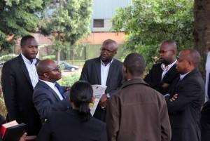 Monitor journalists at CID