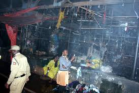 Owino market fire