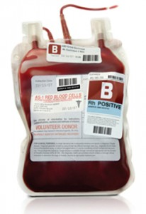 Blood pint