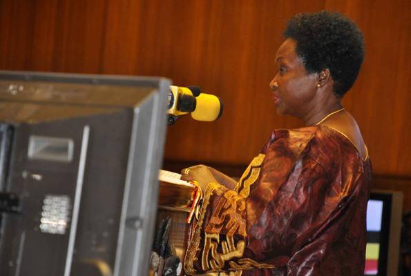 Finance Minister Maria Kiwa