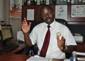 UNATU Chairperson James Tweheyo