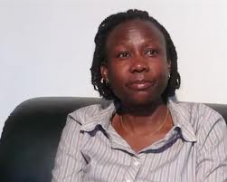 Dr Jane Achieng the DHS at the Ministry of Health