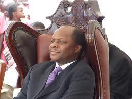 Kabaka of Buganda Ronald Mutebi