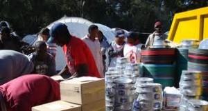 Red cross in Bududa