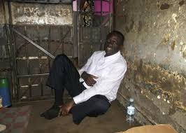 Besigye in cells