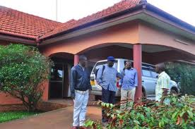 Besigye's home