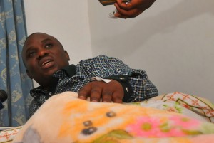 Lukwago in hospital