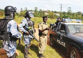 Police at Besigye's home