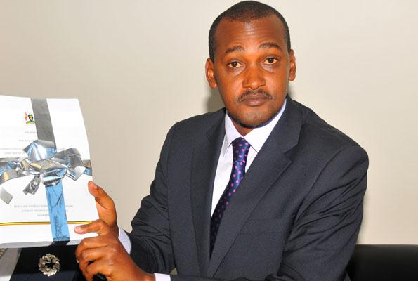 Minister for Presidency,  Kampala Hon Frank Tumwebaze