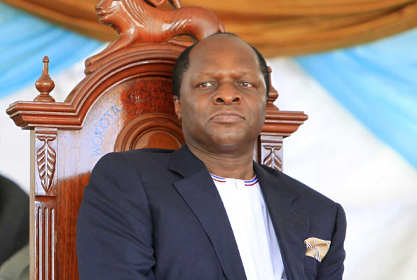 Ronald Mutebi, the king of Buganda