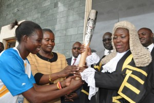 Kadaga and Queens Baton 1