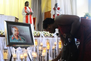 Karegeya's memorial service