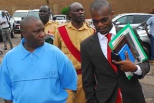 Kazinda leaves court