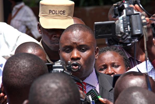 Lukwago arrested and taken Kira police station