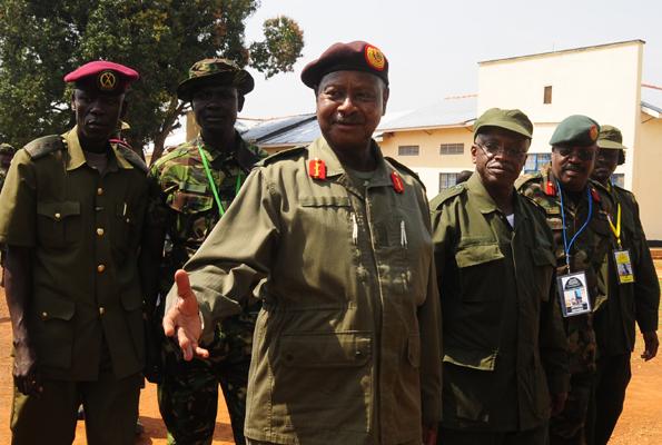 Museveni & Mbabazi in Kyankwanzi