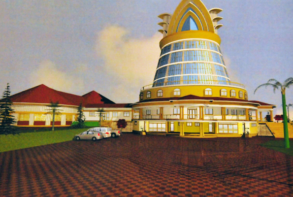 An artistic impression of the new Namugongo Martyrs shrine.