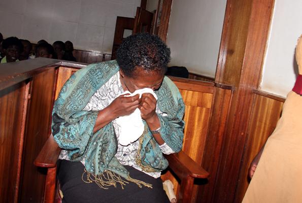 Nurse Rosemary Namubiru