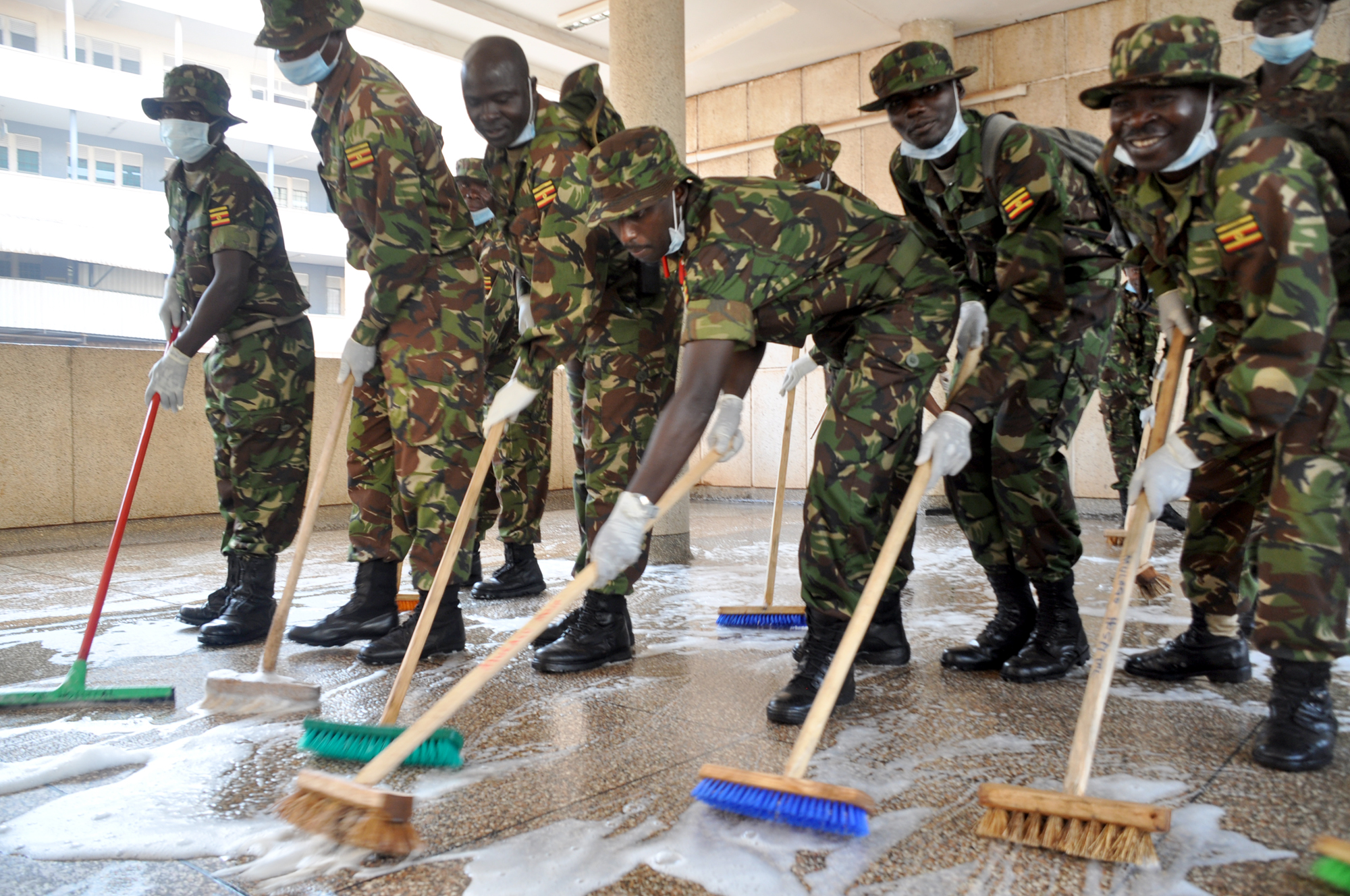 UPDF in Cleaning exercise