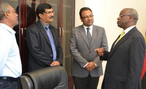 Mbabazi meets investors