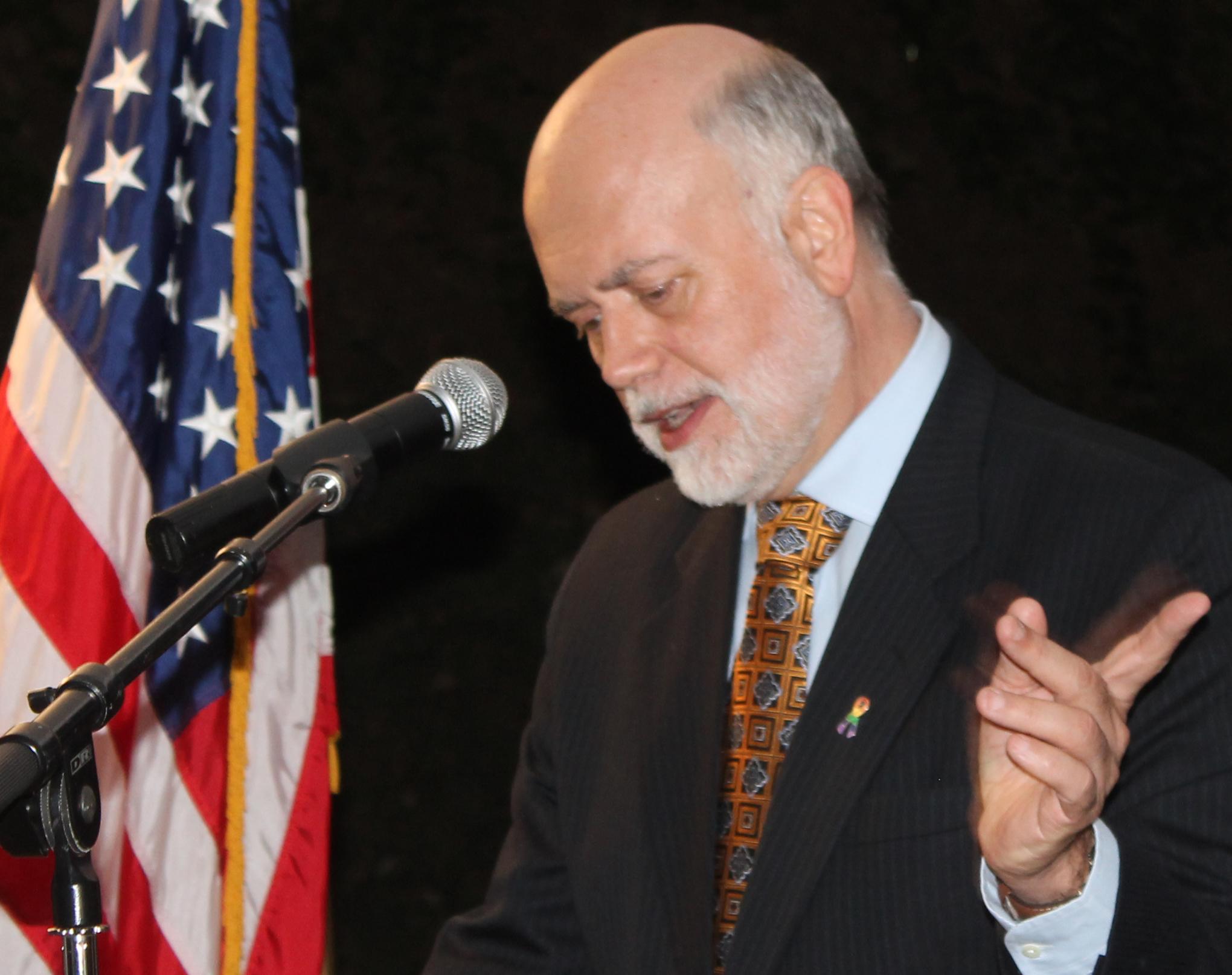 US ambassodor  Scott Delisi