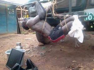 Man tortured