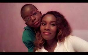Juliana and son