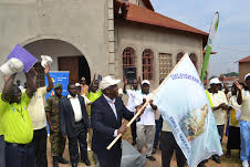 Mbabazi flags off team
