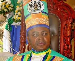 Rwenzururu king Charles Mumbele
