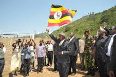 Museveni in Kanungu