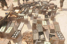 Weapons recovererd in Somalia