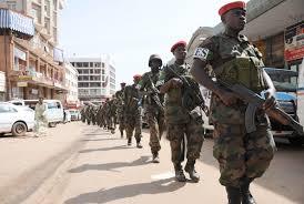 army deploys