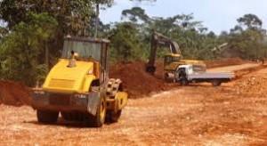 Mukono-Katosi road construction