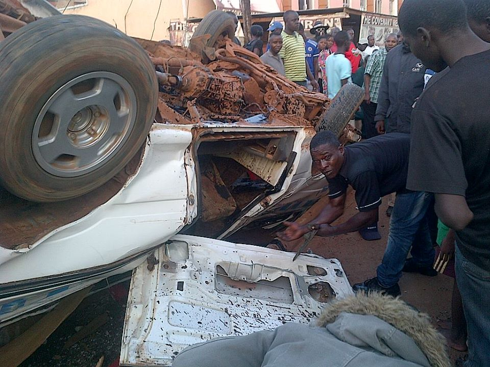 accident wreckage
