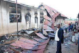 fire guts buildings