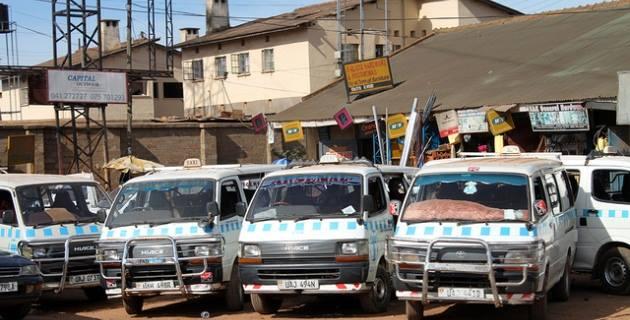 taxi drivers strike in Mityana