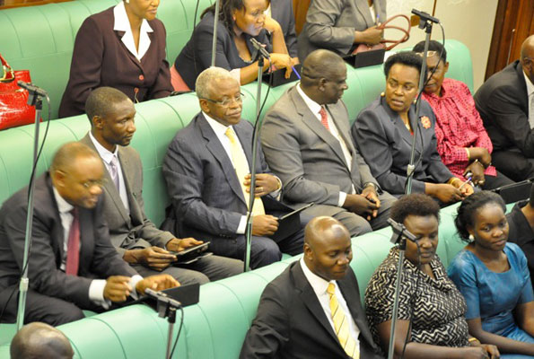 Mbabazi's first day