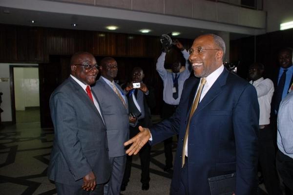 Rugunda arrives at parliament
