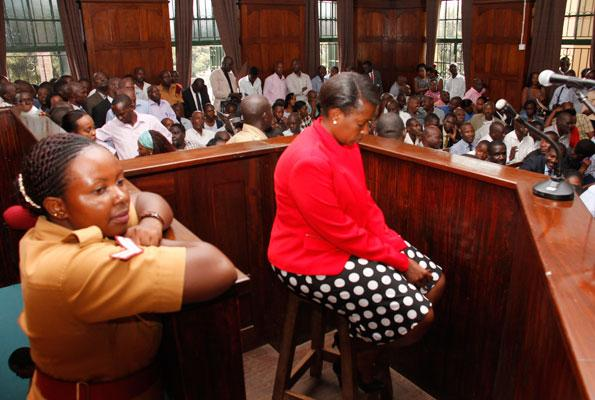 Uwera in court