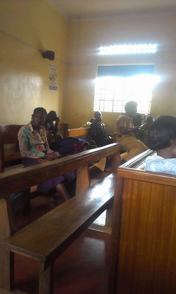 Nurse  Birabwe in court