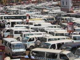 Taxi drivers on strike
