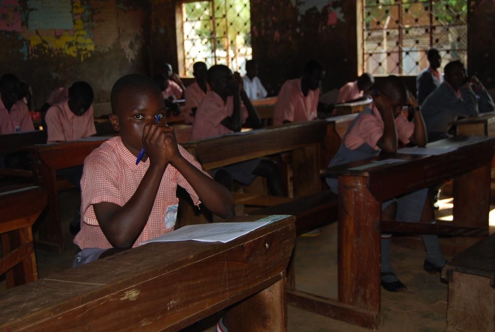 Pupils of Gulu Public Primary School