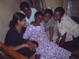 Nurses attending to a patient