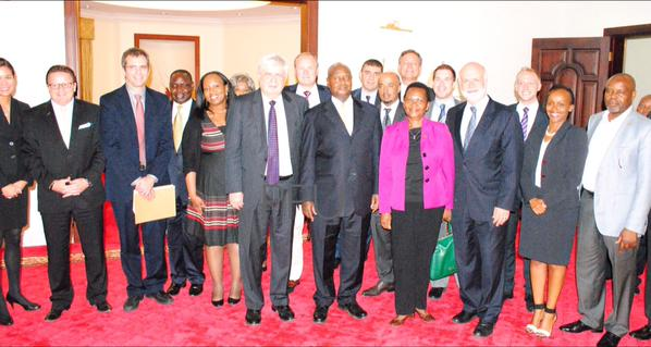 President Museveni meets US investors