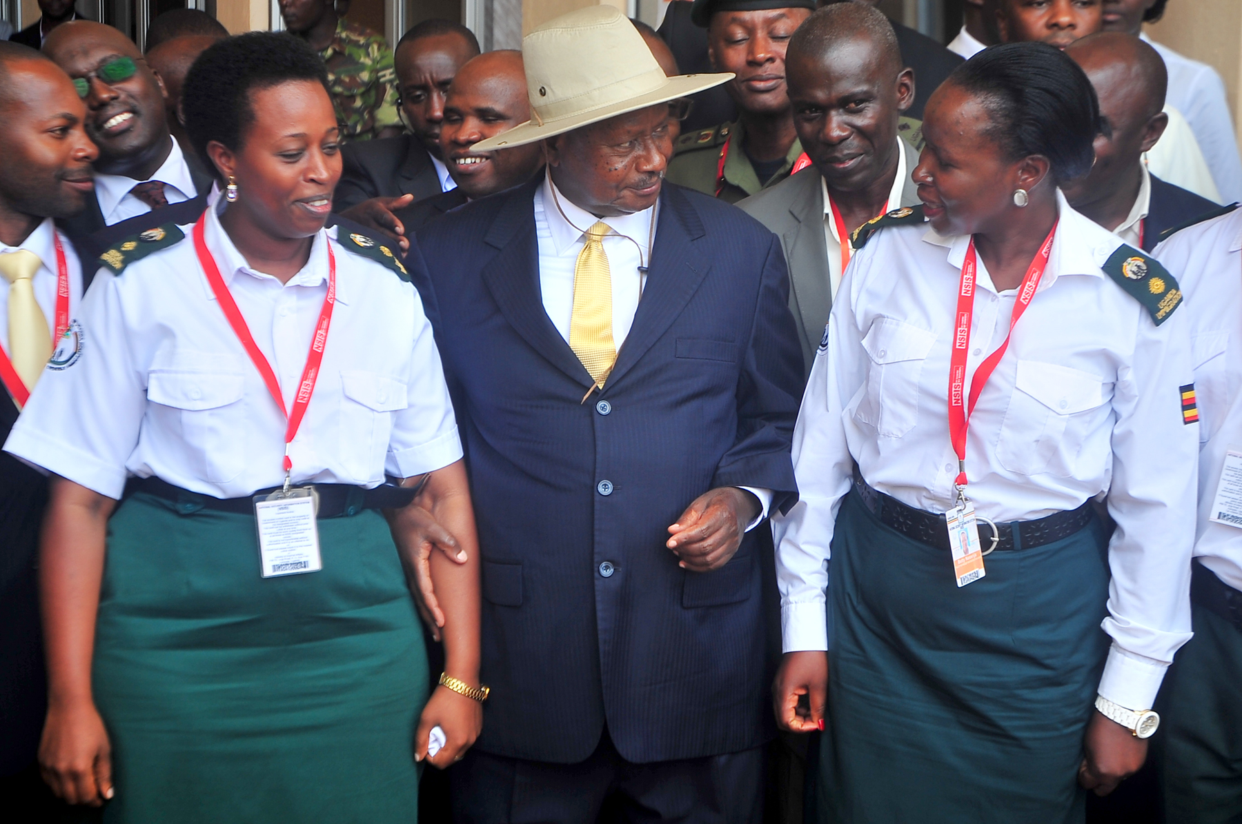 Museveni on IDs