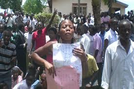 Nkumba students strike